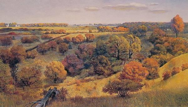 Valley in Autumn